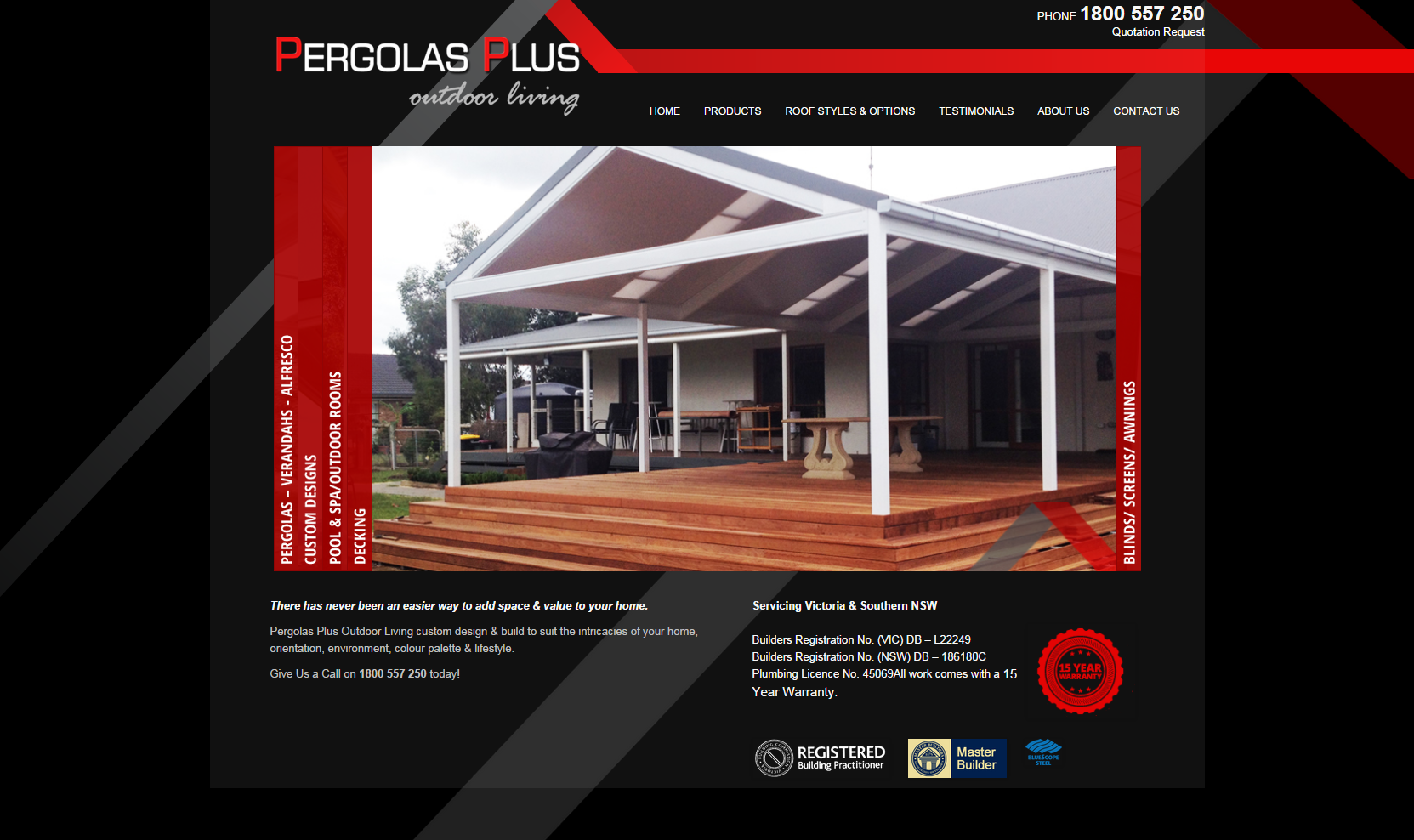 Pergolas Plus Outdoor Living